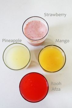 Four Beverages made using paneer whey - The best way to use the leftover whey: flavor it up with fruit juices. It is very nutritious.
