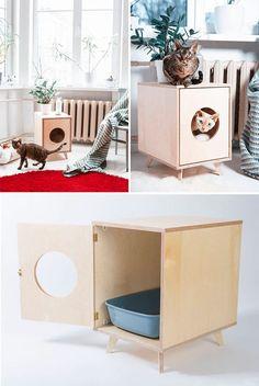 プライベートを重視する猫にとって、箱という存在は重要なもの。狭くて暗くて自分だけの時間を過ごせる箱が彼らには必要なのです。 しかし、いくら箱が必要だからといって、ミカン箱や段ボール箱を置くのはちょっと、猫がいてもおしゃれ …