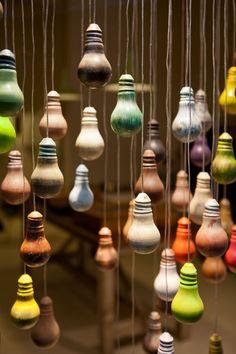 Objetos de decoração - Enfeites de Lâmpadas Queimadas