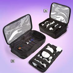 Travel Accessories Organizer Neatnix® Ready 2Go tech travel bags