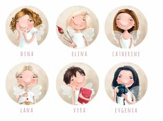 Elina Ellis Illustration: Fairies & Co