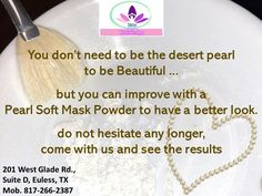 Taking a pearl powder mask helps you to your face skin's resisting ability towards UV damaged.