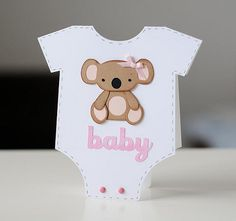 baby shower invite idea, but use leopard instead!