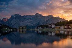 Lago Misurina by StevenDavisPhoto