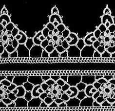 Chapel Window Edging & Insertion Pattern...would make a pretty and delicate bracelet and necklace...free vintage pattern!