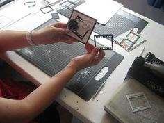 Making a Filmstrip with the On Film Framelits from Stampin'Up!