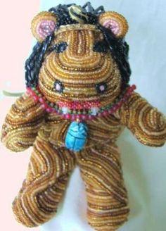 Beaded doll #22