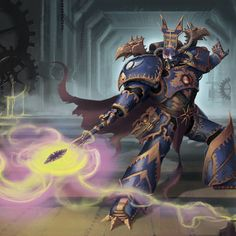 After the destruction of Prospero at their hands, the Thousand Sons have been long time arch-enemies with the Space Wolves chapter. They have tried several times to uproot and destroy the Wolves, ranging from a full-scale invasion of the Space Wolves' homeworld of Fenris to plots such as those spearheaded by the sorcerer Madox.