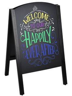 A frame blackboards are dual-sided to reach more people. The timber frame has black finish for a stylish look that will suit any decor. Slide-in, double-sided write-on chalkboards have 478 x area, providing ample space to write your messages. Exhibition Display Stands, Chalkboard Writing, Blackboards, Your Message, Signage, Suit, Messages, Space, Street