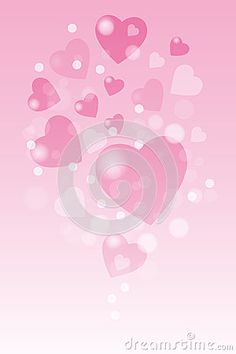 Valentine hearts background with copy space - eps 10 vector