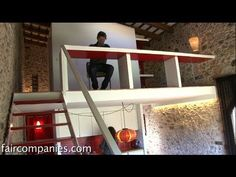 Abandoned hayloft now small cube home on Costa Brava estate - YouTube