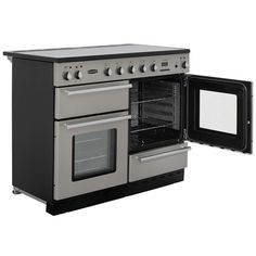 Rangemaster Toledo TOLS110EISS 110cm Electric Range Cooker with Induction Hob - Stainless Steel