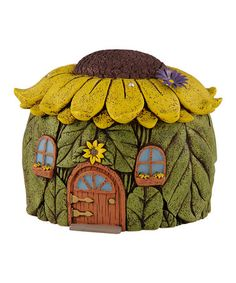 Loving this Flower Fairy House on #zulily! #zulilyfinds