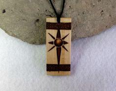 wooden pendant