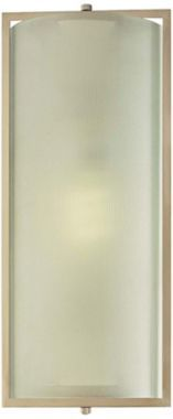 Nickel Frosted Glass 6-Inch-W Minka Lavery Wall Sconce - #EUH8959 - Euro Style Lighting Hallway Sconces, Hotel Concept, Minka, Energy Star, Frosted Glass, Euro, Diy And Crafts, Contemporary, Lighting