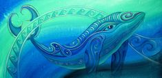 Whale Painting - Whale by Reina Cottier Whale Painting, New Zealand Art, Whale Print, Maori Art, Designs To Draw, Art Blog, Coloring Books, Original Paintings, Photos