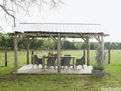 A cow pasture is your definition of a great view.  Interior Design by Ginger Barber. Photo by Victoria Pearson