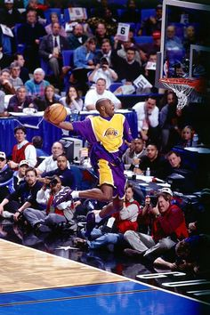 "Kobe Bryant ""1997 Dunk Contest"". I went into labor watching this game! And named my youngest son Kolbie! of course he's a die hard laker fan!"