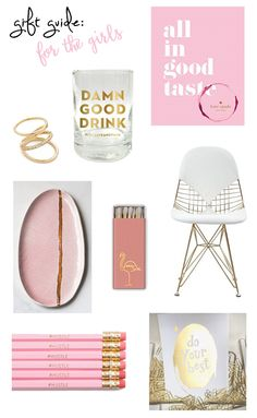 Gift Guide: For The Girls