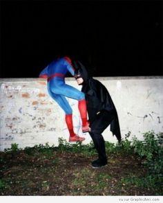 Batman et Spiderman ont bien vieillis :)