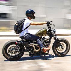 Harley Davidson News – Harley Davidson Bike Pics Bobber Bikes, Bobber Motorcycle, Cool Motorcycles, Motorcycle Style, Harley Davidson Custom Bike, Motos Harley Davidson, Harley Bobber, Bobber Chopper, Harley Davison