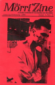 I had this issue !!!!    | Morrissey / The Smiths Fanzine
