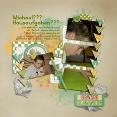 Template and Scrapkit TimeToWork by #SeaTroutScraps Photos by kpmelly