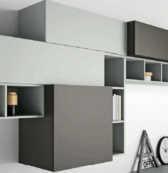 Slim 88 Wall Unit The high quality of its materials makes it a resistant, durable and reliable product. The elegance and balance of the structure makes it a centrepiece in every living room.