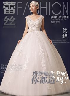 Find More Wedding Dresses Information about 2015 new hot sale Sleeveless  luxury sexy backless elegant  beach vintage  lace plus size white beading wedding dress strapless,High Quality dress lace chiffon,China lace front wigs baby hair Suppliers, Cheap lace tank dress from Playful beauty department store on Aliexpress.com