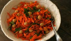 Lettuce-Free Salads: Spicy Carrot and Chickpea Salad Recipe