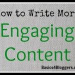 How to Write More Engaging Content