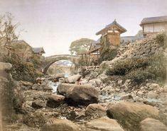 1890年 長崎 阿弥陀橋 ; Amida Bridge Nagasaki 1890