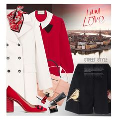 """""""STOCKHOLM"""" by laste-co ❤ liked on Polyvore featuring Gucci, Jimmy Choo, STELLA McCARTNEY, Marni, Halogen, Tory Burch, Burberry, Cover FX and Bourjois"""
