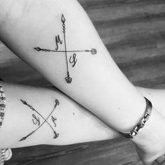 Freundschaftstattoo - My list of best tattoo models Neck Tatto, Forearm Flower Tattoo, Small Forearm Tattoos, Forearm Sleeve Tattoos, Tattoos Bein, Bff Tattoos, Friend Tattoos, Small Tattoos With Meaning, Tattoos For Women Small