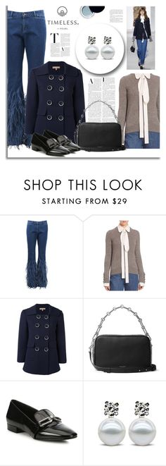 """""""Shning Stars"""" by timelesspearl ❤ liked on Polyvore featuring Michael Kors, Clé de Peau Beauté, michaelkors, michaelkorscollection and timelesspearl"""