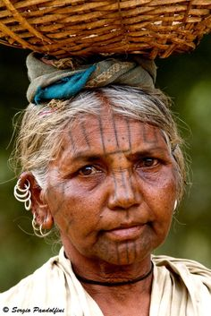 India | Malliah Kondh woman