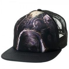 The Walking Dead Zombies Black Trucker Hat @ niftywarehouse.com