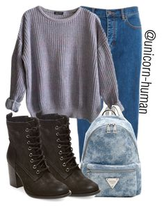 """""""Untitled #1650"""" by unicorn-human ❤ liked on Polyvore featuring Marc Jacobs, American Apparel and Steve Madden"""