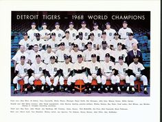 Detroit Tigers win the World Series in 1968 Norm Cash, World Series Winners, Cool Picks, I Cool, Detroit Tigers, Champion, North Shore, Tigers, Champs