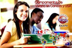 Campamentos de Verano en USA y Canadá   Agencia de Viajes en Xalapa Excel Tours