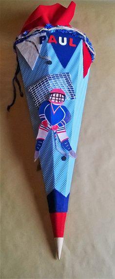Schultüten - Schultüte/Eishockey - ein Designerstück von Deko-Huette bei DaWanda