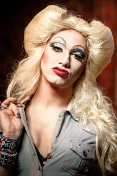Jinkx Monsoon Seattles Premier jewish narcoleptic drag queen.  From this season of Ru Pauls Drag race.  She captures the quirkyness that is seattle