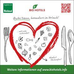 Speisen und Getränke in BIO HOTELS: Grundsätzlich stamme alle verwendeten Produkte aus zertifizierter, biologischer Landwirtschaft.