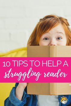 10 Practical Tips to Help Your Struggling Reader Reading Help, Reading Lessons, Reading Strategies, Kids Reading, Reading Activities, Reading Skills, Teaching Reading, Teaching Kids, Reading Fluency