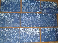 Paysages d'hiver - par Fraya67 City Photo, Art Projects, Quilts, Recherche Google, Decor, Cooking Recipes, Winter, Winter Time, Winter Painting