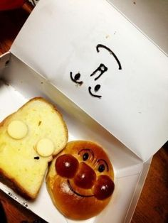 Character of the bread of Japan