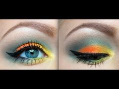 @AlisonLovesJB created a Tropical Look using the 120 Color 1st Edition Palette!