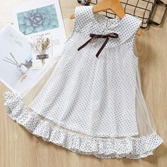 Bear Leader Girls Dress 2020 Cute Polka Dot Princess Dress for Girl Kids Dress Sleeveless Party Dresses 3 Children Clothes Girls Frock Design, Baby Dress Design, Baby Girl Dress Patterns, Frocks For Girls, Toddler Girl Dresses, Little Girl Dresses, Girls Dresses, Dresses For Toddlers, Party Dresses