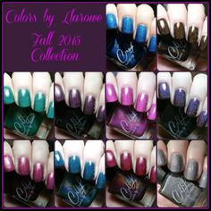 Colors by Llarowe Fall 2015 Collection Swatches | Pointless Cafe