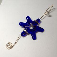 Getting ready for Hanukkah? Here's a great gift #handmadestar #starofdavid #starornament